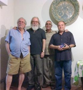 3 . 2012. Andres Barajas, Paco Molinero, Luis Montoya, Carmelo Trenado