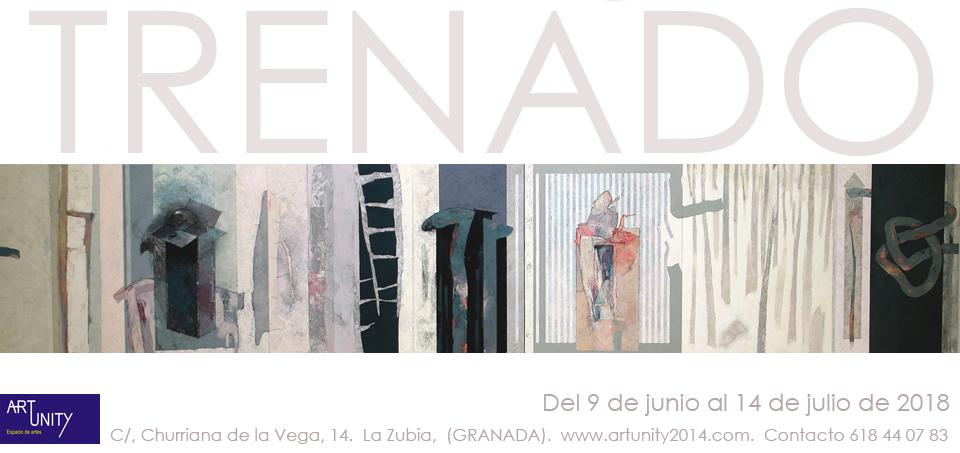 Invitación Exposicion ArtUnity Carmelo Trenado