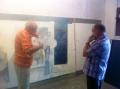 CON ANTONIO CARVAJAL EN MI ESTUDIO (2)